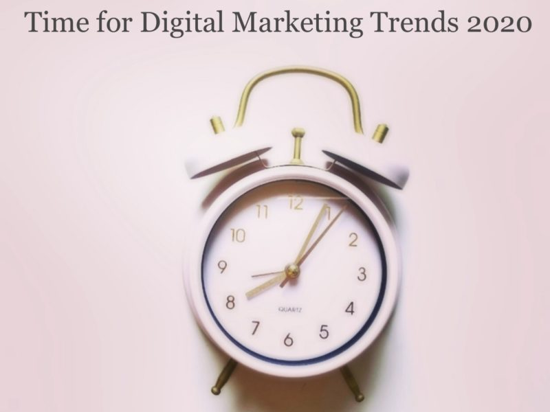 Digital Marketing Trends Experience in 2020 [Infographic]