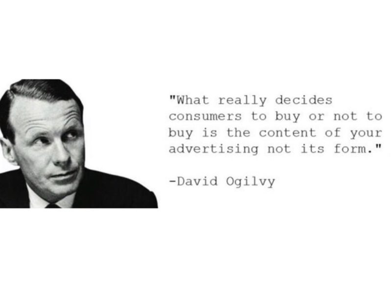 """Advertising Quote by David Ogilvy: """"If it does not sell, it is not Creative."""""""